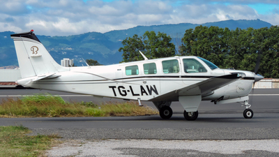 TG-LAW - Beechcraft A36 Bonanza - Private