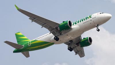 PK-GTJ - Airbus A320-251N - Citilink