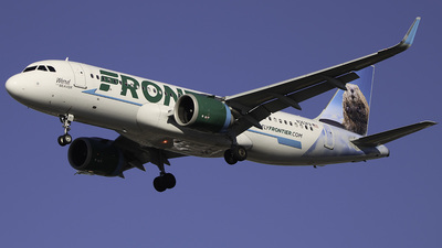 A picture of N363FR - Airbus A320251N - Frontier Airlines - © Anthony D. Sileno