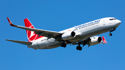A picture of TCJZF - Boeing 7378F2 - Turkish Airlines - © Ömür Sadikoglu