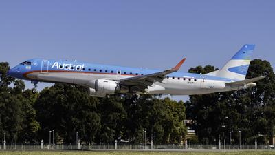 LV-CPI - Embraer 190-100IGW - Austral Líneas Aéreas