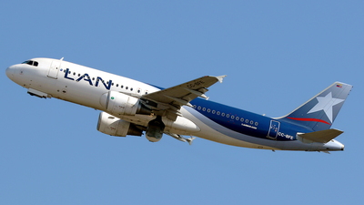 CC-BFE - Airbus A320-214 - LAN Airlines