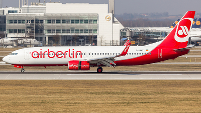 D-ABKY - Boeing 737-86J - Air Berlin