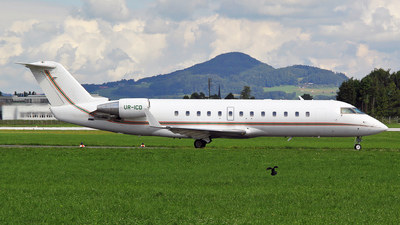 UR-ICD - Bombardier CL-600-2B19 Challenger 850 - ISD Avia Aircompany