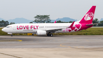 9M-LOV - Boeing 737-8HX - Love Fly (M Jets International)