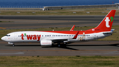 HL8268 - Boeing 737-83N - T'Way Air