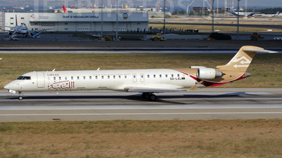 5A-LAL - Bombardier CRJ-900 - Libyan Airlines