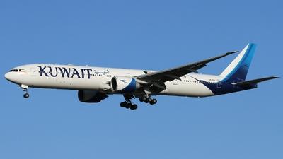 A picture of 9KAOJ - Boeing 777369(ER) - Kuwait Airways - © AL-Alan Lebeda