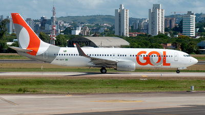 A picture of PRGUY - Boeing 7378EH - GOL Linhas Aereas - © Renan Araújo