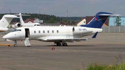 TC-SPL - Bombardier BD-100-1A10 Challenger 300 - Tarkim Aviation