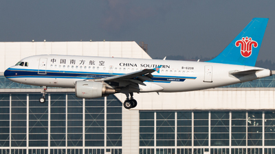 B-6208 - Airbus A319-115 - China Southern Airlines