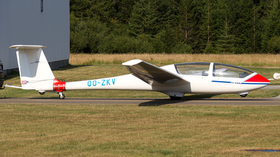 OO-ZKV - Grob G-103 Twin Astir - Private