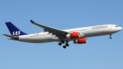 LN-RKM - Airbus A330-343 - Scandinavian Airlines (SAS)