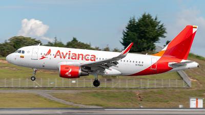 N751AV - Airbus A319-115 - Avianca