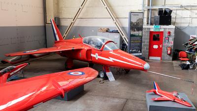 XR571 - Folland Gnat T.1 - United Kingdom - Royal Air Force (RAF)