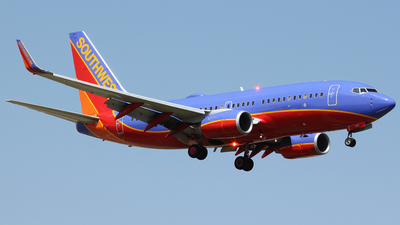 N274WN - Boeing 737-7H4 - Southwest Airlines