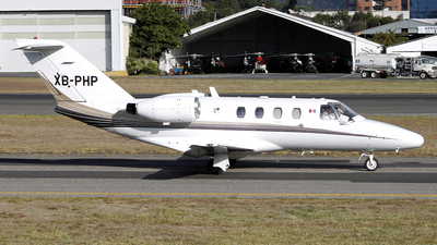 XB-PHP - Cessna 525 CitationJet 1 - Private