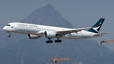 A picture of BLRF - Airbus A350941 - Cathay Pacific - © Adrian Tong