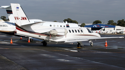 VH-JMM - Cessna 551 Citation II(SP) - Sydney Jet Charter