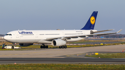 A picture of DAIKH - Airbus A330343 - Lufthansa - © Johannes Wirl