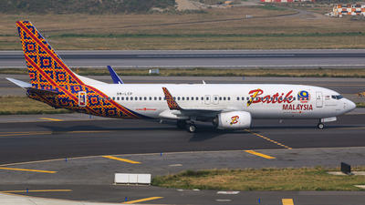 A picture of 9MLCP - Boeing 7378GP - [43186] - © Cheng Wei Ho