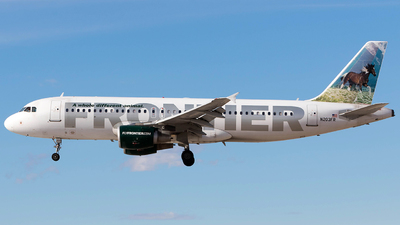 N203FR - Airbus A320-214 - Frontier Airlines