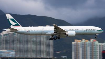 A picture of BKQZ - Boeing 777367(ER) - Cathay Pacific - © Chow Kin Hei - AHKGAP