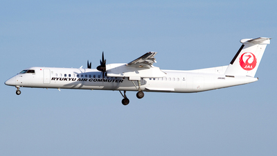 JA83RC - Bombardier Dash 8-Q402C - Ryukyu Air Commuter (RAC)