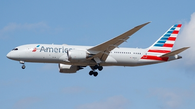 A picture of N801AC - Boeing 7878 Dreamliner - American Airlines - © woooo Seungbeen