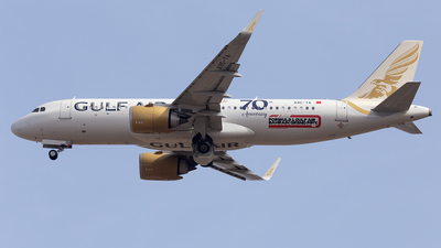 A picture of A9CTA - Airbus A320251N - Gulf Air - © Oksana