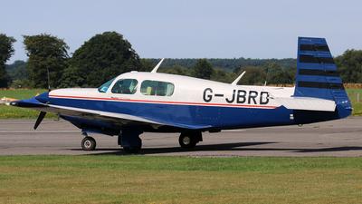G-JBRD - Mooney M20K 252 TSE - Private