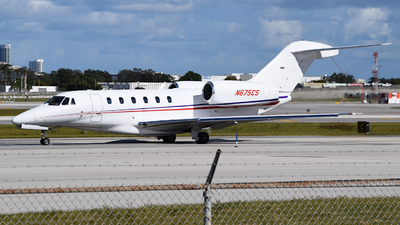 A picture of N675CS - Cessna 750 Citation X - Delta Private Jets - © Sebastian Wermuth