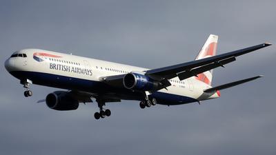 G-BNWI - Boeing 767-336(ER) - British Airways