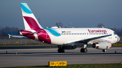 A picture of DAGWY - Airbus A319132 - Eurowings - © Julian Maas