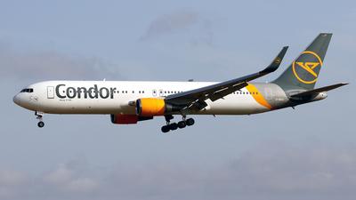 A picture of DABUS - Boeing 76738E(ER) - Condor - © Javier Rodriguez - Amics de Son Sant Joan