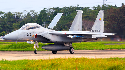 82-8063 - McDonnell Douglas F-15DJ Eagle - Japan - Air Self Defence Force (JASDF)