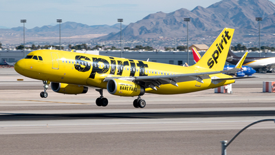 A picture of N644NK - Airbus A320214 - Spirit Airlines - © Yan777