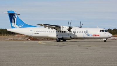 OH-ATL - ATR 72-212A(500) - Finncomm Airlines