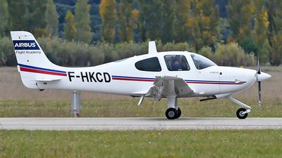 F-HKCD - Cirrus SR20 - Airbus Flight Academy Europe