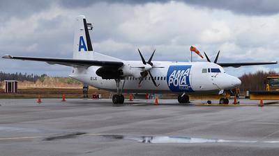 SE-LJG - Fokker 50 - Amapola Flyg