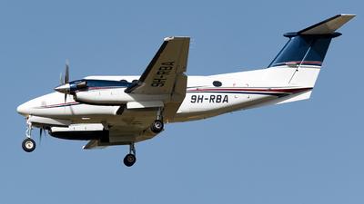 9H-RBA - Beechcraft B200GT Super King Air - Tyrolean Jet Service Malta