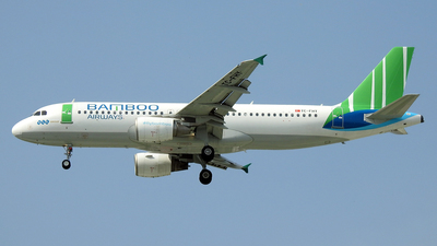 TC-FHY - Airbus A320-214 - Bamboo Airways (Freebird Airlines)