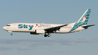 TC-SKH - Boeing 737-8BK - Sky Airlines