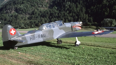HB-RAU - Pilatus P-2-05 - Private