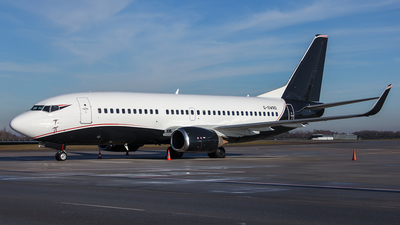 G-SWRD - Boeing 737-3L9 - 2 Excel Aviation