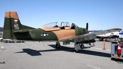 N51705 - North American T-28A Trojan - Private