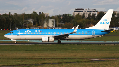 PH-BXG - Boeing 737-8K2 - KLM Royal Dutch Airlines