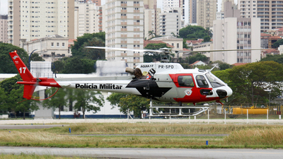 PR-SPD - Helibrás AS-350B2 Esquilo - Brazil - Military Police