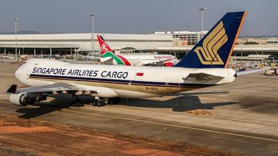 9V-SFO - Boeing 747-412F(SCD) - Singapore Airlines Cargo
