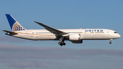 A picture of N45956 - Boeing 7879 Dreamliner - United Airlines - © Gerrit Griem